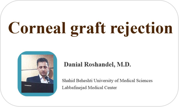 Corneal graft rejection